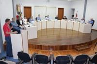 Comandante do Corpo de Bombeiros participa da sessão do legislativo