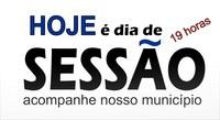 Participe da Sessão Ordinária às 19 horas desta segunda-feira